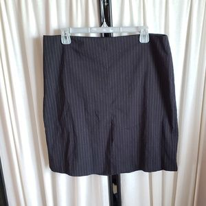 00549041a6 Copper Key size 13 (juniors) pinstripe mini skirt